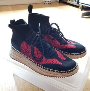 Alexander Wang Dakota Knit High-Top Sneaker